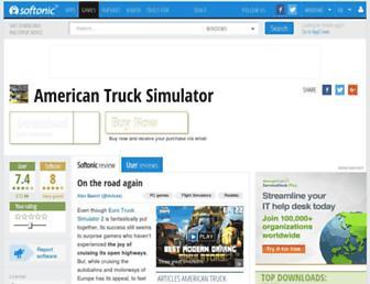 american-truck-simulator.en.softonic.com screenshot