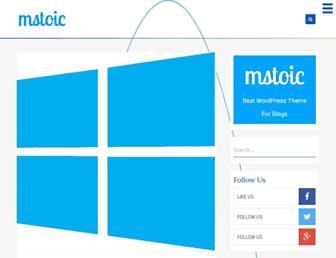 mstoic.com screenshot