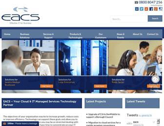 eacs.com screenshot