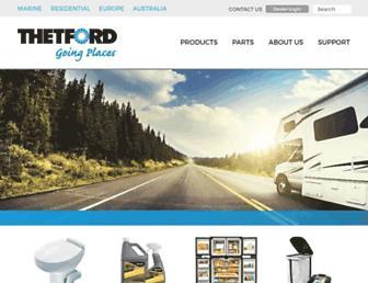 thetford.com screenshot