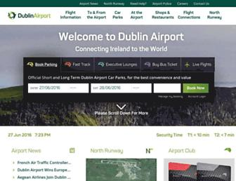 dublinairport.com screenshot