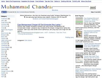 muhammadchandra.blogspot.com screenshot