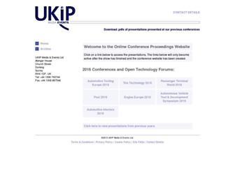 ukintpress-conferences.com screenshot