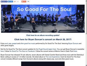 Main page screenshot of christianmusic.org