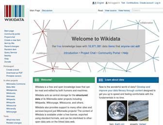 wikidata.org screenshot