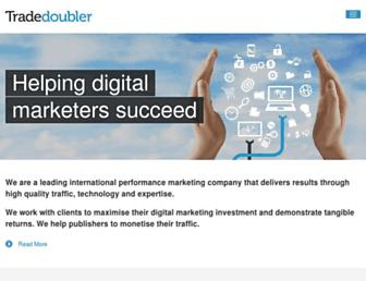 Thumbshot of Tradedoubler.com