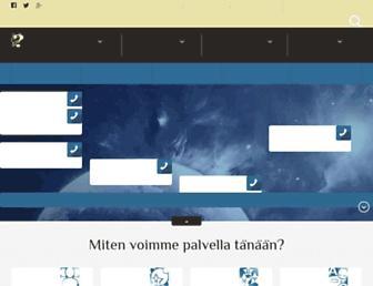 rajatieto.org screenshot