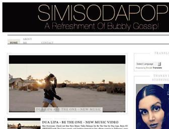 simisodapop.com screenshot