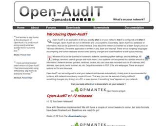 open-audit.org screenshot