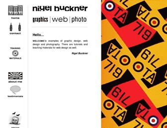 nigelbuckner.com screenshot