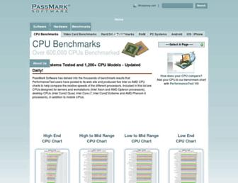 Thumbshot of Cpubenchmark.net