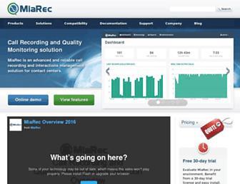 miarec.com screenshot