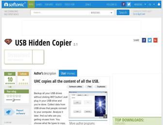 usb-hidden-copier.en.softonic.com screenshot