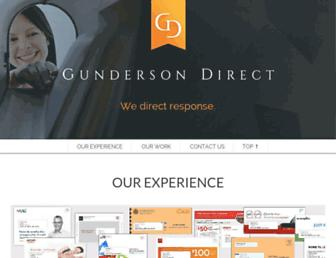 gundersondirect.com screenshot