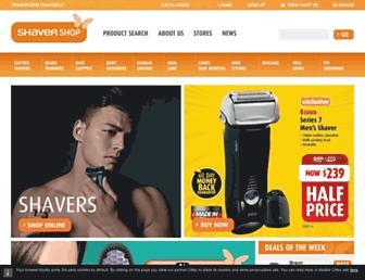 Thumbshot of Shavershop.com.au
