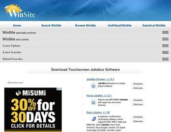 touchscreen-jukebox.winsite.com screenshot