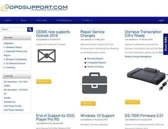 opdsupport.com screenshot