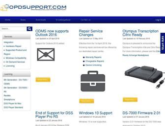 opdsupport.com screenshot