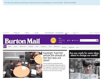 Thumbshot of Burtonmail.co.uk