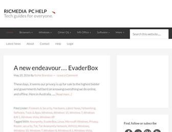 pchelp.ricmedia.com screenshot