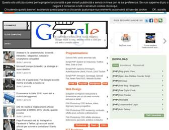 Main page screenshot of webmasterpoint.org