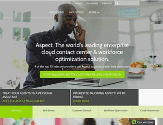 aspect.com screenshot