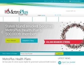 metroplus.org screenshot