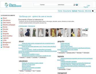scrigroup.com screenshot