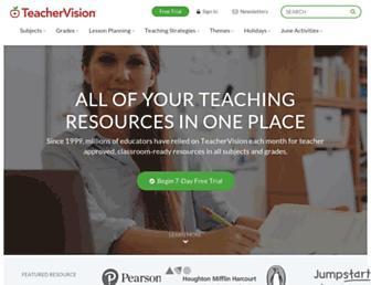 Thumbshot of Teachervision.com