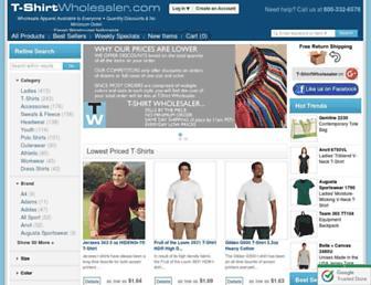 Thumbshot of T-shirtwholesaler.com