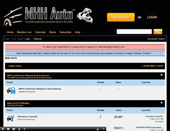 mhhauto.com screenshot
