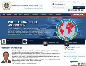 ipa-iac.org screenshot