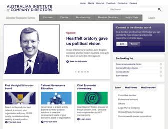 Thumbshot of Companydirectors.com.au