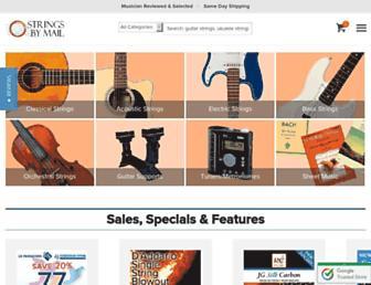 stringsbymail.com screenshot