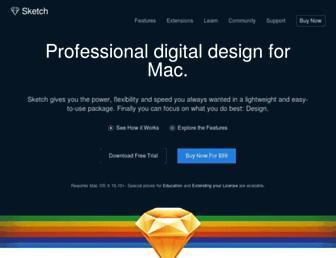 sketchapp.com screenshot