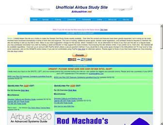 airbusdriver.net screenshot