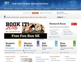 Thumbshot of Slcolibrary.org