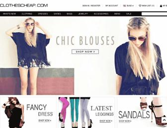 Thumbshot of Clothescheap.com
