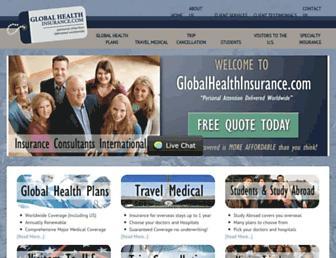 globalhealthinsurance.com screenshot