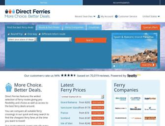 directferries.com screenshot