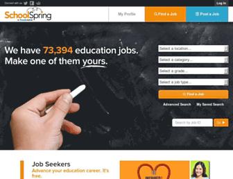 Thumbshot of Schoolspring.com