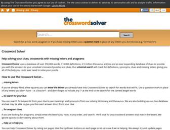 Thumbshot of The-crossword-solver.com