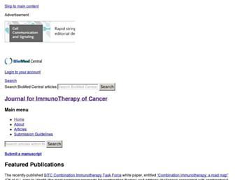 jitc.biomedcentral.com screenshot