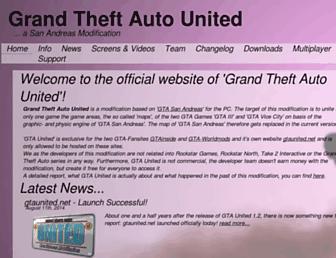 gtaunited.net screenshot