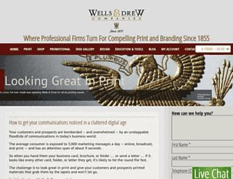 wellsdrew.com screenshot