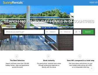 Screenshot for sunnyrentals.com