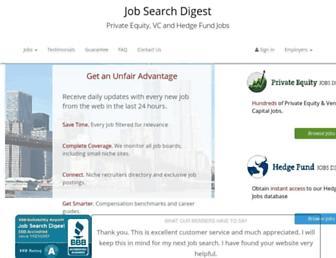jobsearchdigest.com screenshot