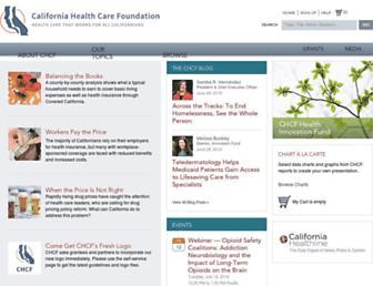chcf.org screenshot