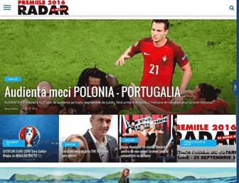 radardemedia.ro screenshot