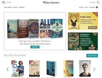 waterstones.com screenshot